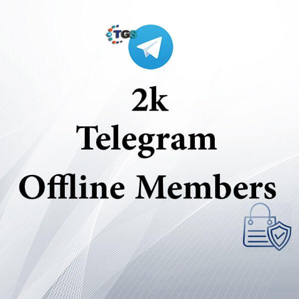 2k Telegram offline members