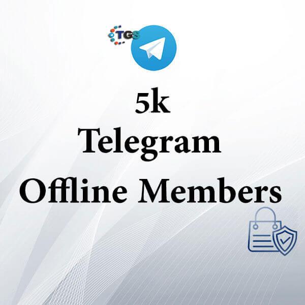 5k Telegram offline members